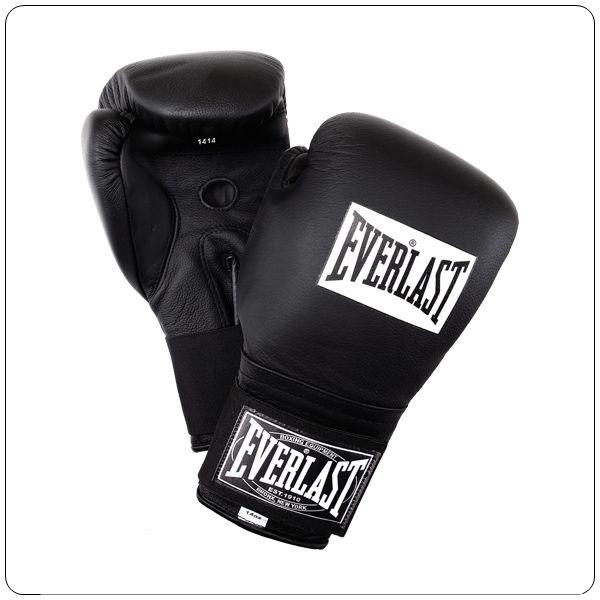 Everlast Bőr tépőzáras professzionális bokszkesztyű